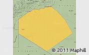 Savanna Style Map of Tendouf