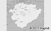 Gray Map of Tiaret