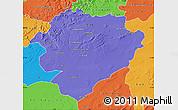 Political Map of Tiaret