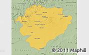 Savanna Style Map of Tiaret