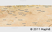 Satellite Panoramic Map of Tiaret
