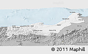 Gray 3D Map of Tipaza