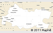 Classic Style Simple Map of Tissemsilt