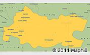 Savanna Style Simple Map of Tissemsilt