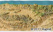 Satellite 3D Map of Tizi-ouzou