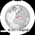 Outline Map of Tizi-ouzou