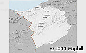 Gray 3D Map of Tlemcen
