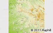 Physical Map of Nambuangongo