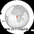 Outline Map of Nambuangongo