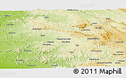 Physical Panoramic Map of Nambuangongo