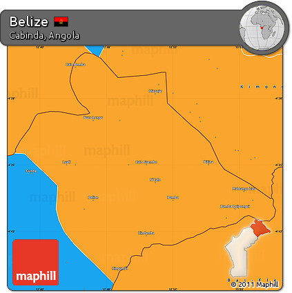 Political Map Of Belize.Free Political Simple Map Of Belize
