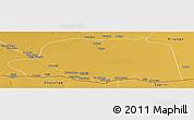 Physical Panoramic Map of Dirico