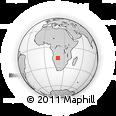 Outline Map of Mavinga