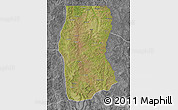Satellite Map of Cambulo, desaturated