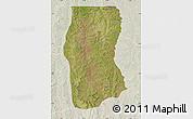 Satellite Map of Cambulo, lighten