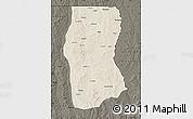 Shaded Relief Map of Cambulo, darken