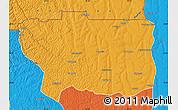 Political Map of Caungula
