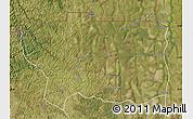 Satellite Map of Caungula