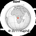 Outline Map of Caungula