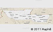 Classic Style Panoramic Map of Chitato