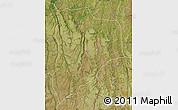 Satellite Map of Lucapa
