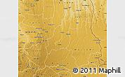 Physical Map of Lunda Sul