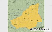 Savanna Style Map of Lunda Sul