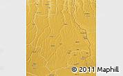 Physical 3D Map of Muconda