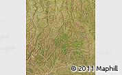 Satellite 3D Map of Muconda