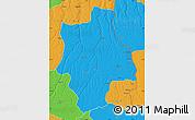 Political Map of Muconda