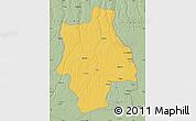 Savanna Style Map of Muconda