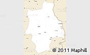 Classic Style Simple Map of Muconda