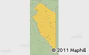 Savanna Style Map of Lumbala N'Guimbo
