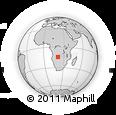 Outline Map of Lumbala N'Guimbo