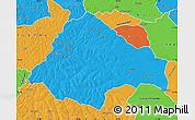 Political Map of Moxico