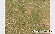 Satellite Map of Moxico