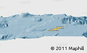 Savanna Style Panoramic Map of Anguilla
