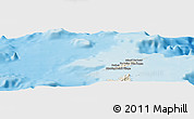 Shaded Relief Panoramic Map of Anguilla