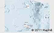 Classic Style 3D Map of Antigua and Barbuda