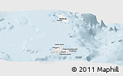 Classic Style Panoramic Map of Antigua and Barbuda