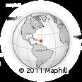 Outline Map of Saint Philip