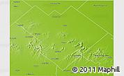 Physical 3D Map of Balcarce