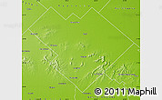 Physical Map of Balcarce