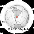 Outline Map of Balcarce