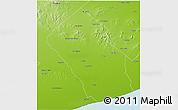 Physical 3D Map of Loberia