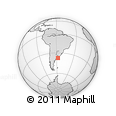Outline Map of Mar Chiquita