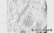Physical 3D Map of Antofagasta de la Sierra
