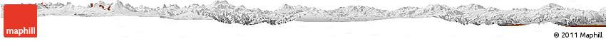 Physical Horizon Map of Antofagasta De La Sierra