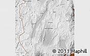 Physical Map of Antofagasta de la Sierra