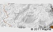 Physical Panoramic Map of Antofagasta de la Sierra